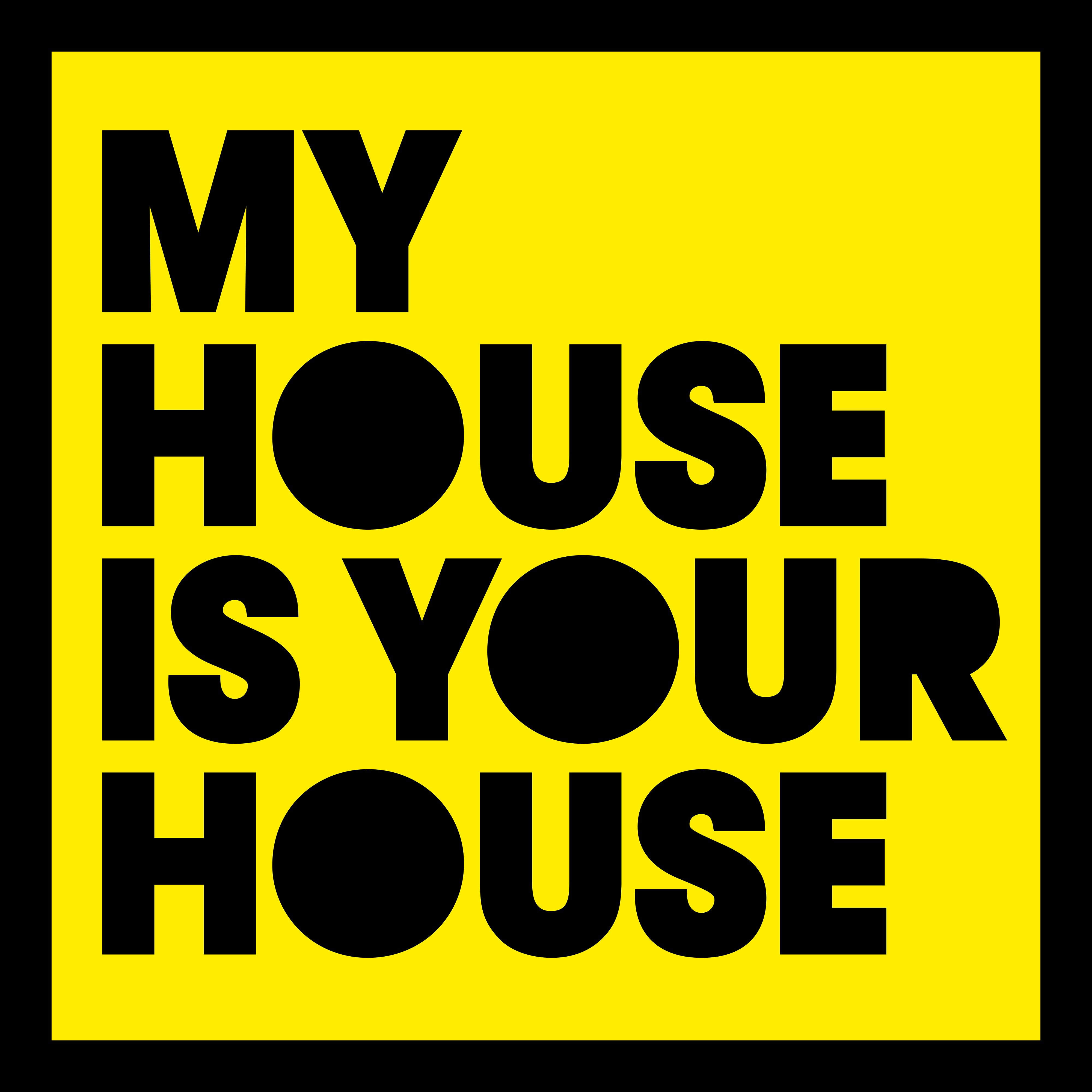 My house is your house by various artists on itunes for House music singers
