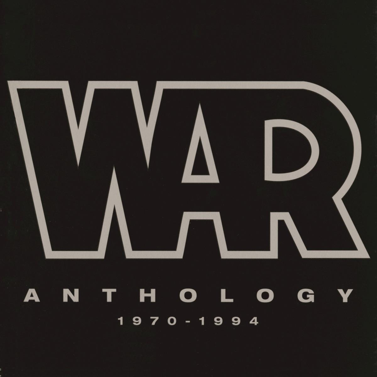 Anthology 1970-1994 War CD cover