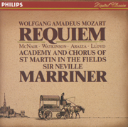 Mozart: Requiem - Academy of St. Martin in the Fields & Sir Neville Marriner - Academy of St. Martin in the Fields & Sir Neville Marriner