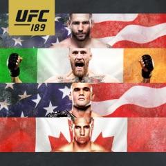 Chad Mendes vs. Conor McGregor UFC 189