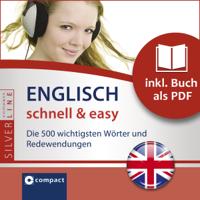 Gesa Füßle - Englisch schnell & easy (Compact SilverLine Audio perfekt). Fokus Wortschatz und Redewendungen artwork