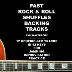 Fast Rock & Roll Shuffles Backing Tracks