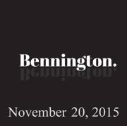 Bennington, November 20, 2015