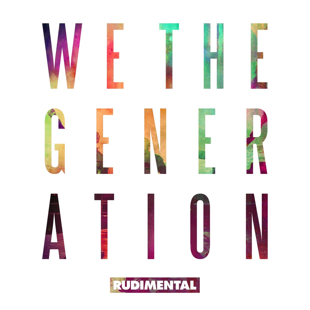 We the Generation Deluxe Edition Rudimental CD cover