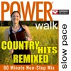 Power Walk - Country Hits Remixed (60 Minute Non-Stop Mix), Power Music Workout
