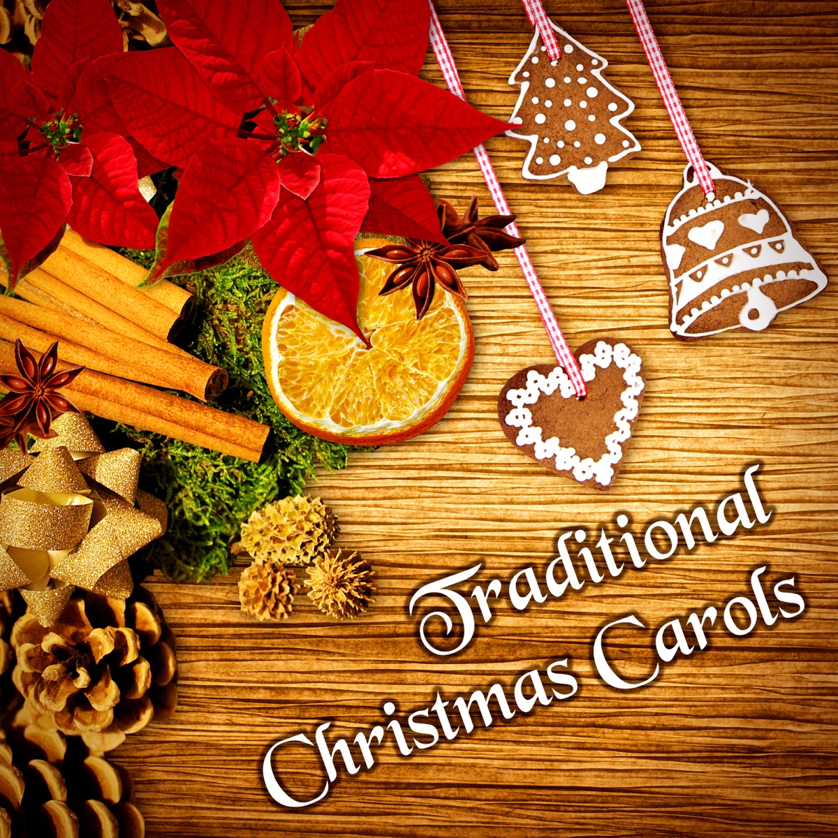 Instrumental Christmas Music.Traditional Christmas Carols The Best Xmas Songs
