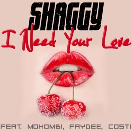 ‎I Need Your Love (feat  Mohombi, Faydee & Costi) - Single by Shaggy