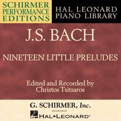 Bach: Nineteen Little Preludes