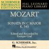 Enrique Graf - Piano Sonata No. 16 in C Major, K. 545