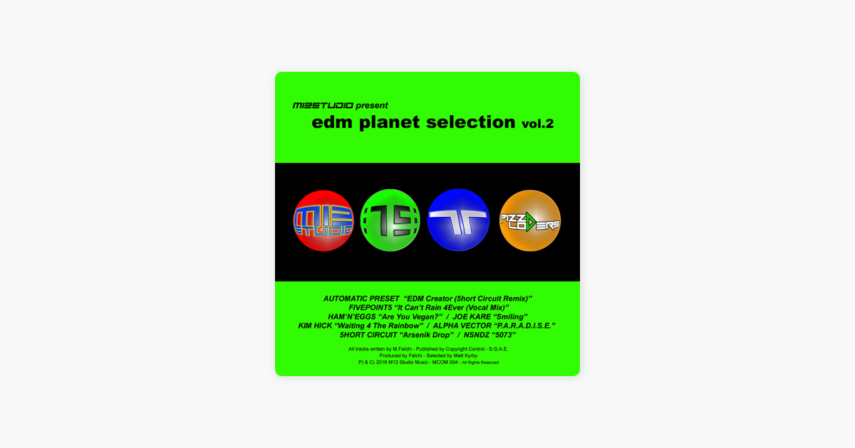 EDM Planet Selection Vol 2 by Various Artists