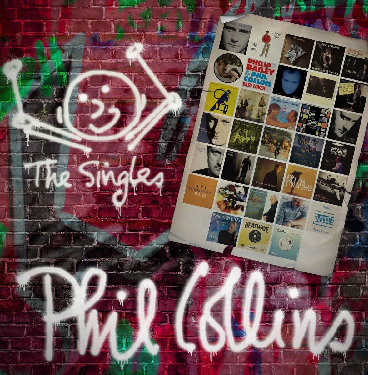 The Singles Expanded Phil Collins CD cover