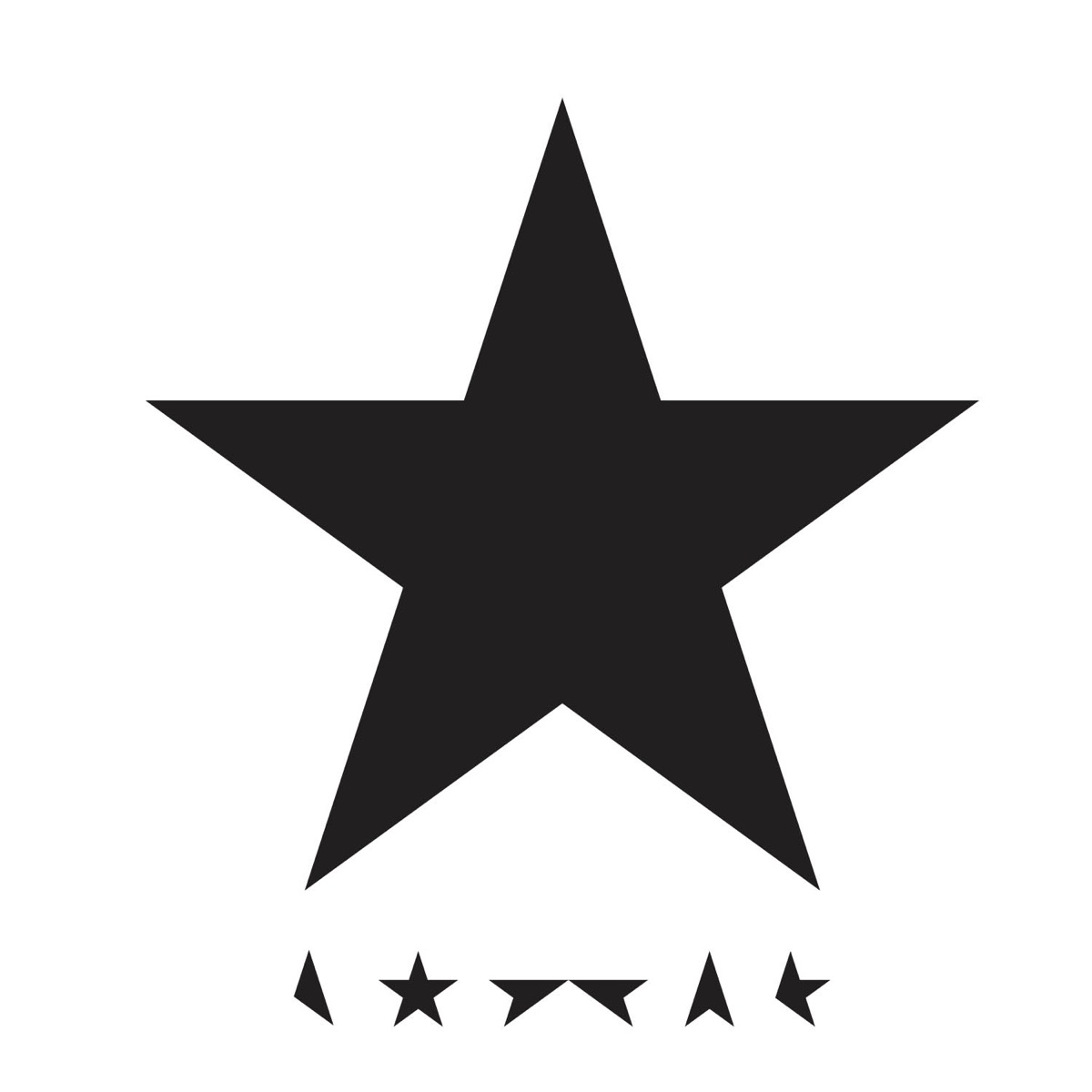 Blackstar David Bowie CD cover