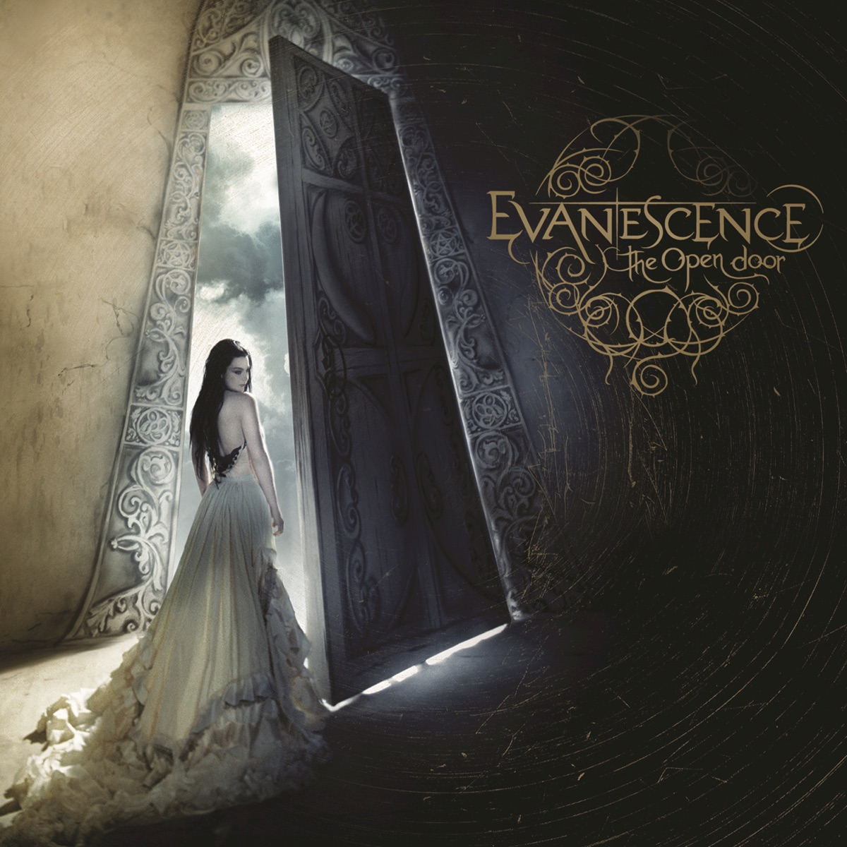 The Open Door Evanescence CD cover