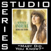 Mary Did You Know (Studio Series Performance Track) - - EP - Meredith Andrews