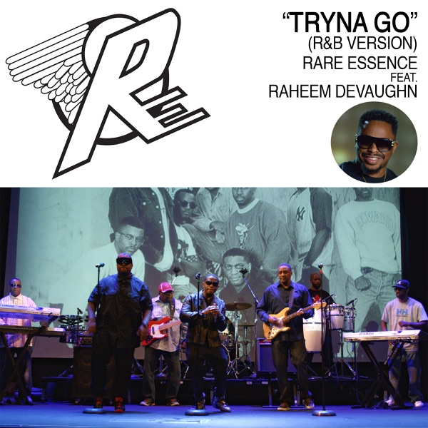 Tryna Go (feat. Raheem DeVaughn ) [R&B Version] - Single