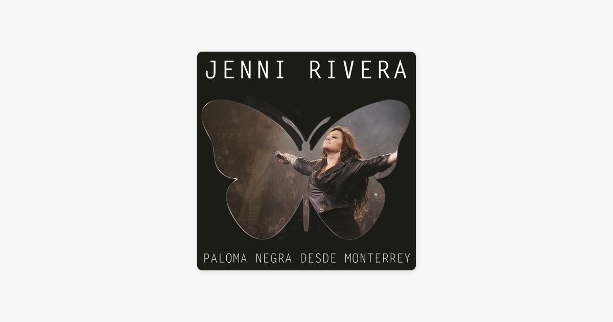 Paloma Negra Desde Monterrey Live Deluxe De Jenni Rivera En