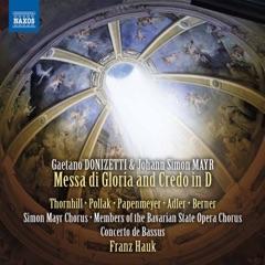 Donizetti & Mayr: Messa di gloria & Credo in D Major