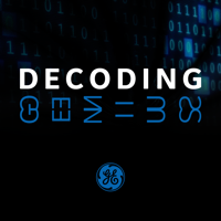 Podcast cover art for Decoding Genius