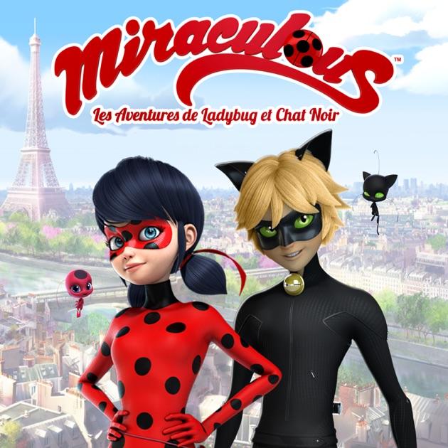 Miraculous ladybug les aventures de ladybug et chat noir sur itunes - Dessin a colorier ladybug et chat noir ...