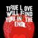 True Love Will Find You in the End - Beck