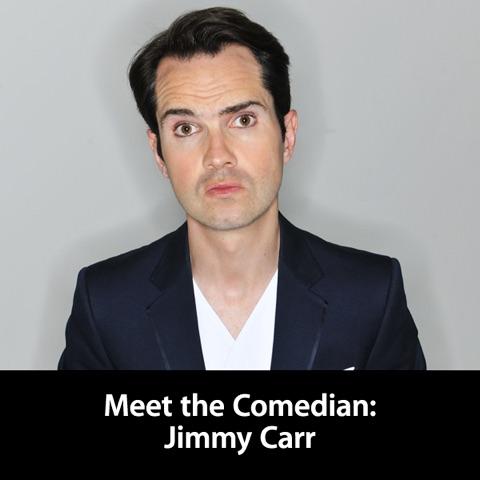 Meet the Comedian: Jimmy Carr Artwork