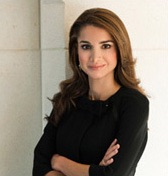 Queen Rania's podcast channel
