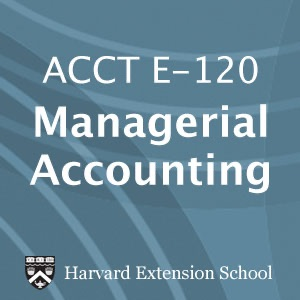 ACCT E-120  Managerial Accounting - Audio