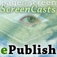 eBook Production Screencasts podcast