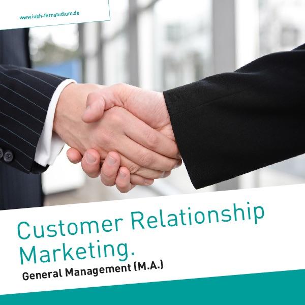 Customer Relationship Marketing (Master)