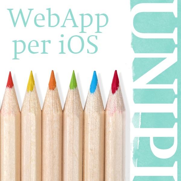 WebApp per iOS