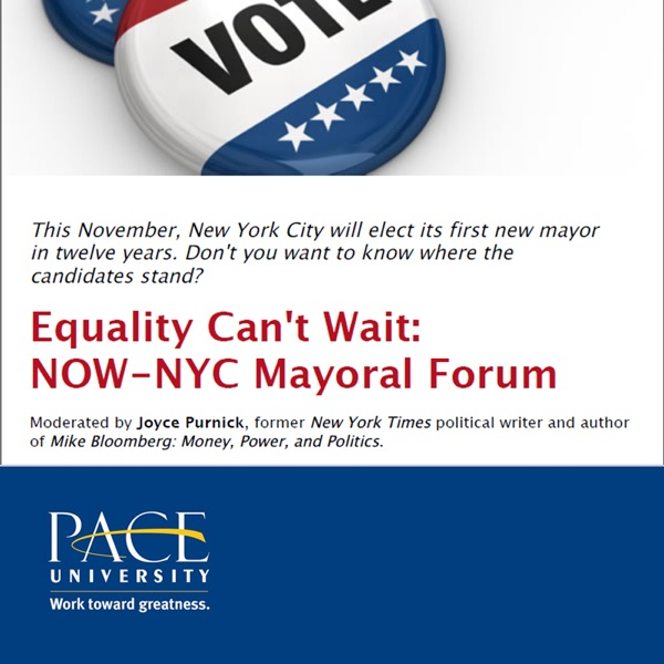 Equality Can't Wait: NOW-NYC Mayoral Forum