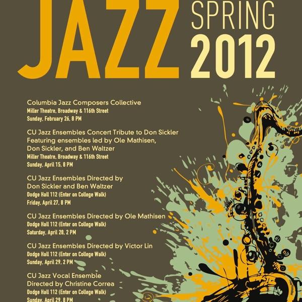 Columbia University Jazz Concerts, Spring 2012