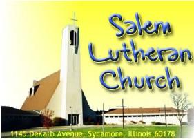 Sermons - Salem Lutheran Church, Sycamore, IL
