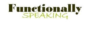 Functionally Speaking