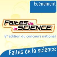 Concours national Faites de la Science 2013 podcast