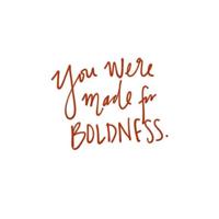 Having boldness podcast