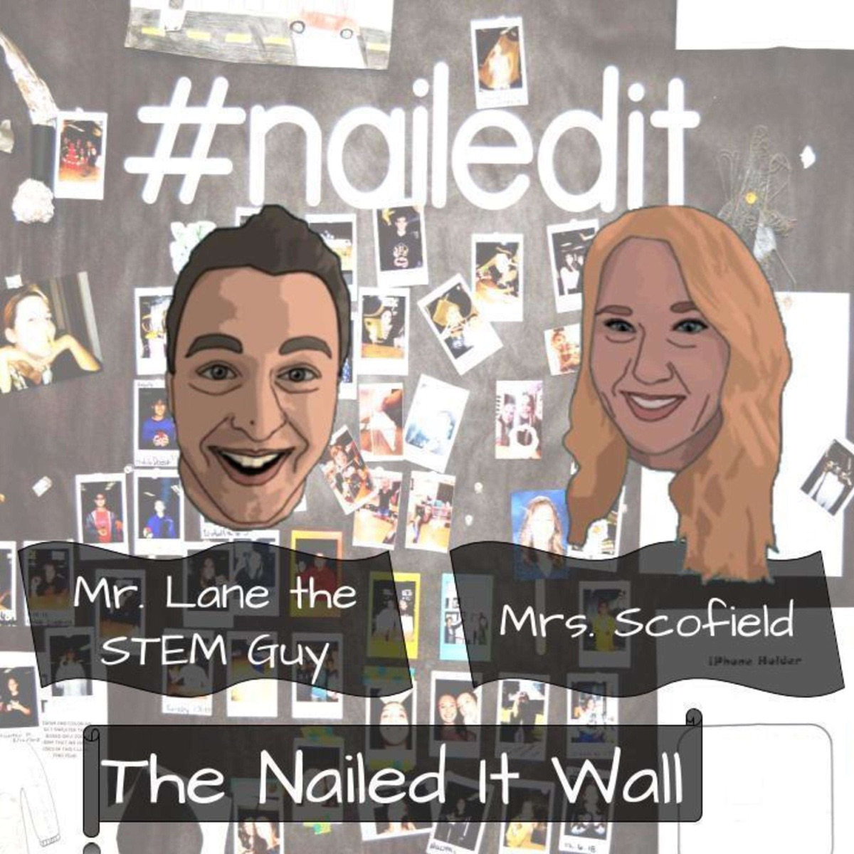 The Nailed It Wall