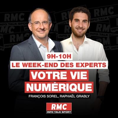 Le weekend des experts : Votre vie numérique:RMC