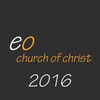 East Orange Church of Christ 2016 podcast