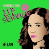 Angela Yee's Lip Service artwork