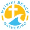 Waikiki Beach Gathering artwork