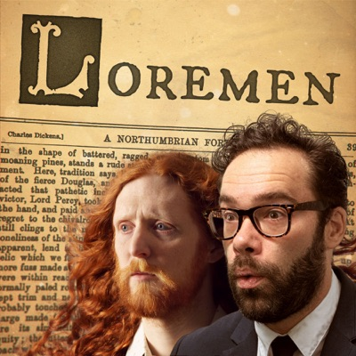Loremen Podcast:James Shakeshaft and Alasdair Beckett-King