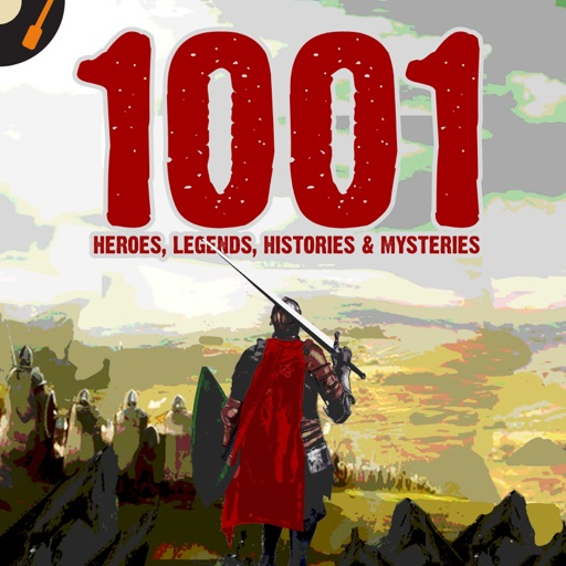 Cover image of 1001 Heroes, Legends, Histories & Mysteries Podcast