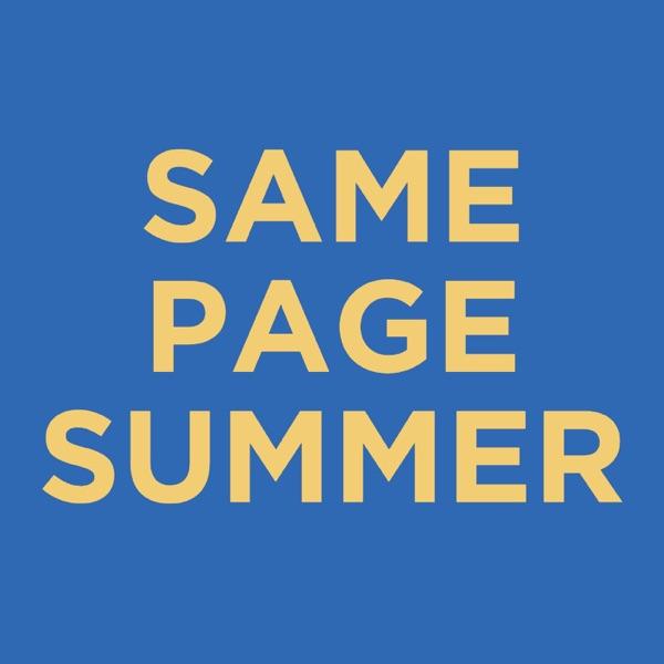 Bible Reading Challenge (#SamePageSummer)