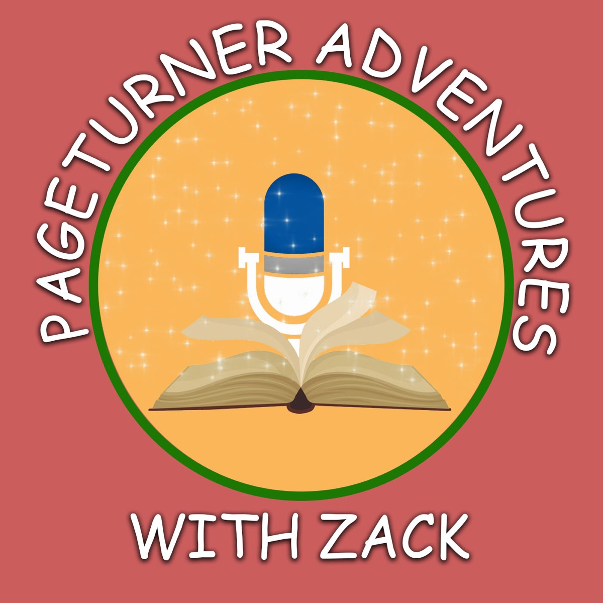 Pageturner Adventures with Zack