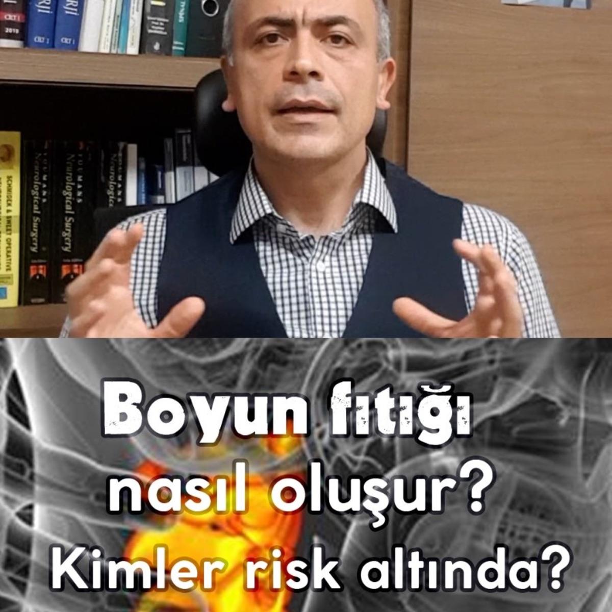 Boyun fıtığı mı dediniz? Boyun fıtığı nasıl oluşur? Kimler risk altında? Prof.Dr.Duran Berker Cemil