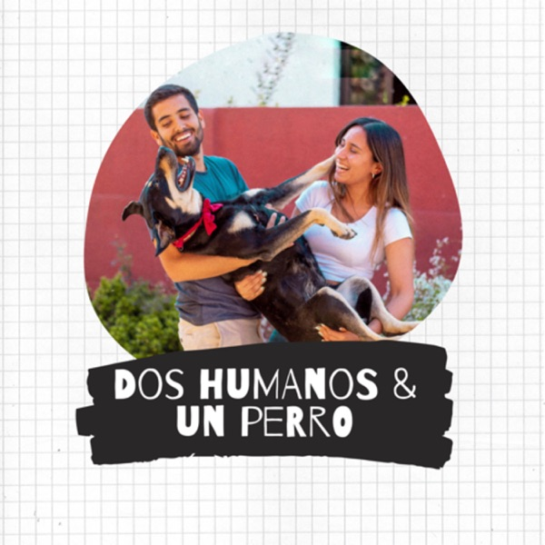 Dos humanos y un perro