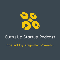 Podcast cover art for CurryUp Startup Podcast
