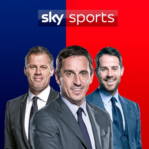 The Sky Sports Football Podcast banner backdrop