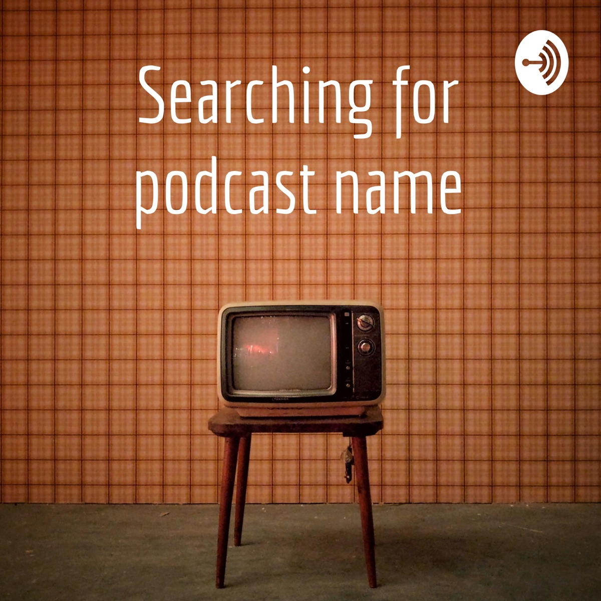 Searching for podcast name